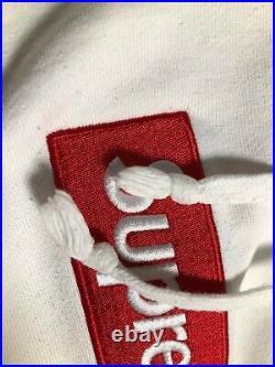 Supreme Box Logo Hoodie (fw16) White