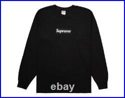 Supreme Box Logo L/S Tee Black Size XL