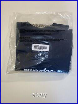 Supreme Box Logo Long Sleeve T Shirt Navy Size M Brand New Authentic Medium FW20