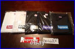 Supreme Box Logo OG PROMO Tee T-shirt BRAND NEW XL Xlarge FRIENDS FAMILY cdg