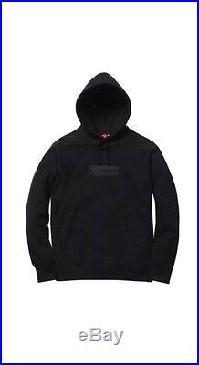 Supreme Box Logo Pullover Hoodie Black Sz S Ds W Receipt 2014! Peach Zebra