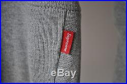 Supreme Box Logo Pullover Hoodie Grey FW2013 S Small