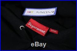 Supreme Box Logo Pullover Hoodie Tonal Black Rare CDG Pink Navy Red White Size M