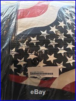 Supreme Box Logo Pullover, Style Flag, Size Medium