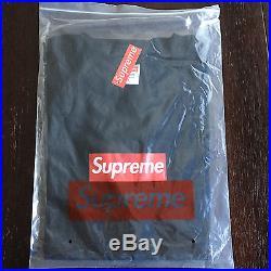 Supreme Box Logo T-Shirt Large L BLACK BRAND NEW 20th Anniversary