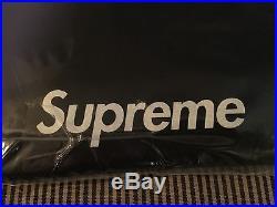 Supreme Box Logo Tee Black F&F 2003, Large L