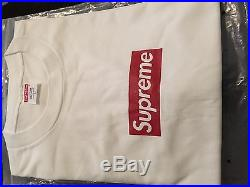 Supreme Box Logo Tee Large Vintage RARE 2006 White OG Box Tee