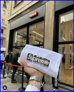 Supreme Box Logo Tee Milan Opening