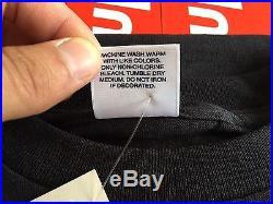 Supreme Box Logo Tee Shirt BLACK ON BLACK 2007 SIZE XL RARE 100% AUTHENTIC