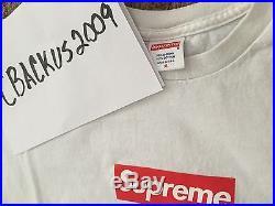 Supreme Box Logo Tee XL 100% Authentic Lot of 2