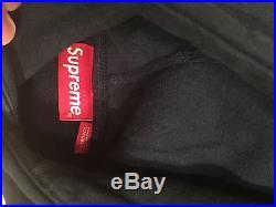 Supreme Box Logo Tonal Hoodie Navy Medium