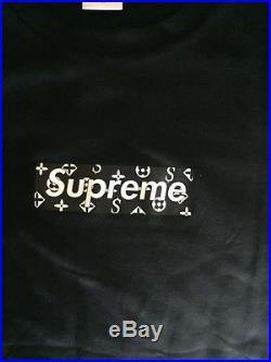 Supreme Box Logo t shirt tee Monogram Medium VERY RARE