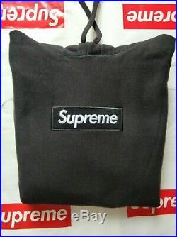 Supreme Box logo Hoodie Hooded Sweatshirt FW16 Black Size L