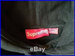 Supreme Box logo Hoodie Hooded Sweatshirt FW16 Black Size M