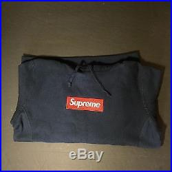 Supreme Box logo hoodie 2016 F/W camo white navy