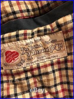 Supreme British Millerain Club Jacket Navy Large Rare Vtg Vintage Box Logo