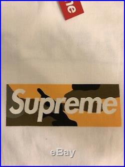 Supreme Brooklyn Box Logo Tee White Medium/Large