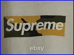 Supreme Brooklyn Box Logo Tee White Size XL Condition Is Pre-Owned