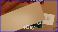 Supreme Buffalo Plaid Box Logo Sticker Set Rare Kermit Kate Louis Off OG Paper