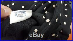 Supreme CDG Polka dot Box Logo Hoodie Black Size L 1000% Authentic