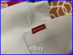 Supreme CDG Split Box Logo Hoodie Heather Red Size Large Cheap
