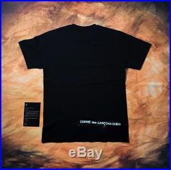 Supreme CDG Split Box Logo Tee Black