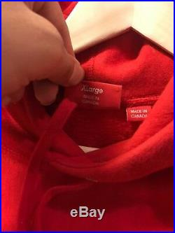 Supreme Capone N Noreaga War Report Red Size Sz XL FW16 Box Logo CNN