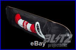 Supreme Cat In The Hat Skateboard Deck Black Fw18 2018 Skate 7.875 Red Box Logo