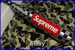 Supreme Cdg Box Logo Mizuno Checker Baseball Bat Aluminum Alloy Le Bain