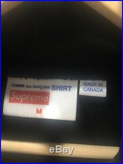 Supreme Cdg Comme Des Garcons Hoodie M Medium Box Logo TNF bogo mogo ali sade mj