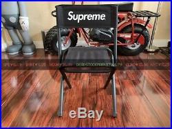 Supreme Coleman Folding Chair S/s 2015 Box Logo Black Hoodie Sweater Crew Neck