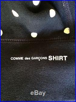 Supreme Comme des Garcons Box Logo Hooded Sweatshirt, Size SMALL