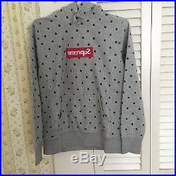 Supreme Comme des Garcons Box Logo Pullover Hoodie SMALL SET bogo S/S 2012