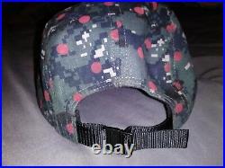 Supreme Comme des Garcons Hat SS13 Dot Digital Camo Box Logo Camp Cap Pre-Owned