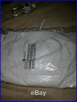Supreme Cop Car Ash Grey Hooded Sweatshirt (MEDIUM) Box Logo Sold Out