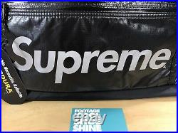 Supreme Cordura Ripstop Nylon Duffle Bag Fall Winter 2017 Black Box Logo New