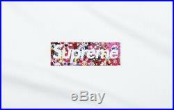 Supreme Covid Relief Box Logo MEDIUM T-Shirt Order Confirmed Supreme x Takashi