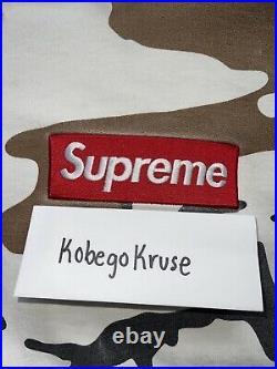 Supreme Cow Camo Box Logo Hoodie size XL