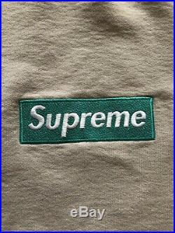 Supreme Crewneck Box logo Bogo SS05 Oatmeal Teal Green North Face Stone Island