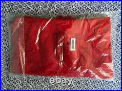 Supreme Cross Box Logo Hooded Sweatshirt Red Bogo Hoodie Large READY TO SHIP