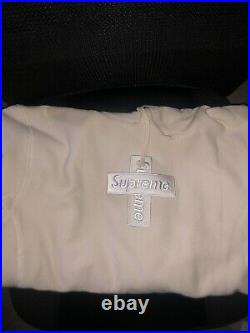 Supreme Cross Box Logo Hoodie (Natural) Size XL (In Hand) 100% Authentic