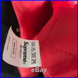 Supreme Crusaders Varsity Jacket Ma-1 Military Navy Box Logo M65 A2 Deck Ss10 M