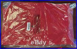 Supreme Cutout Bogo Box Logo Crewneck Sweatshirt Large Red New with Tags