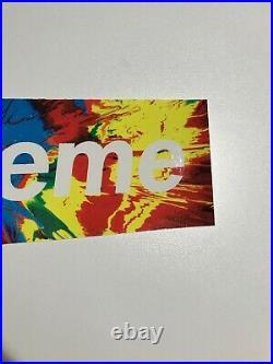 Supreme Damien Hirst Sticker Set 3 Box Logo BOGO