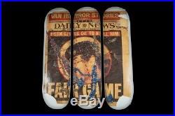 Supreme Dash Snow Skateboard Set Fw16 2016 Skate Deck White Multi Box Logo