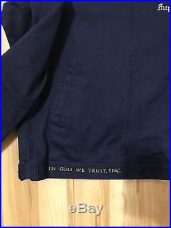 Supreme Dead Kennedys Worker Jacket Large Ian Connor Box Logo Navy Box Logo