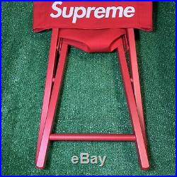 Supreme Directors Chair Red SS19 100% Authentic. Box Logo