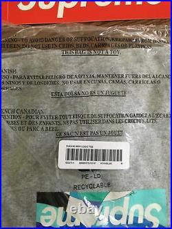 Supreme Emilio Pucci Box Logo Heather Grey /Blue Size M SHIPS ASAP