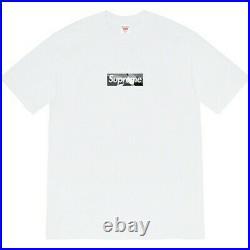 Supreme Emilio Pucci Box Logo Tee (White / Black) Size L