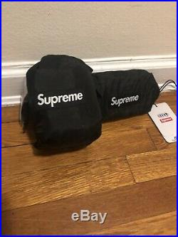 Supreme Eno Doublenest Hammock Black Ss19 Week 9 In Hand Sold Out Box Logo